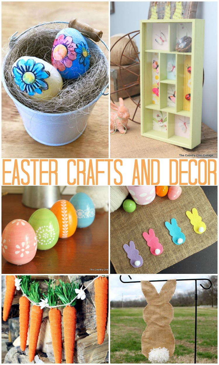 Easter the country chic cottage diy easter basket and decor ideas solutioingenieria Gallery