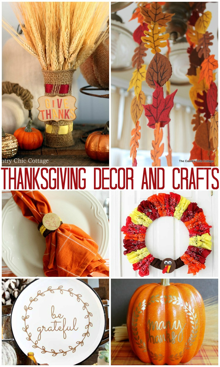Turkey Day Hercules Style: The Country Chic Cottage