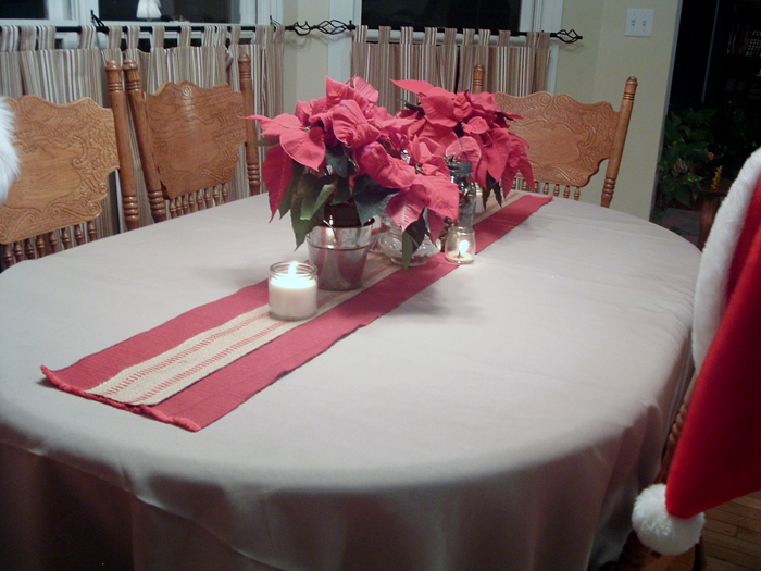 Christmas Table Runner The Country Chic Cottage