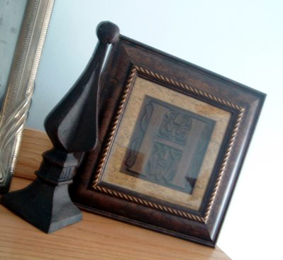 Transformation of a Christmas clearance find into a gorgeous home decor finial!