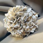 Make this sheet music ball for your home! You will love this easy to make home decor ball made with vintage sheet music!