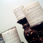 Make these sheet music candle wraps in seconds and add to your home decor!