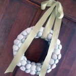 Make this simple spring wreath idea for your home!