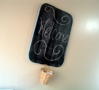 Cutting Board to Chalkboard