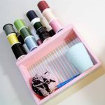 Make this thread and sewing organizer for your craft room!