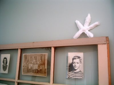 Make a shabby starfish from scrap fabric for your nautical or beach themed home!
