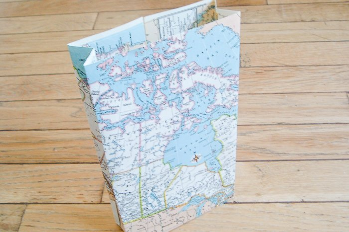 upcycling old maps