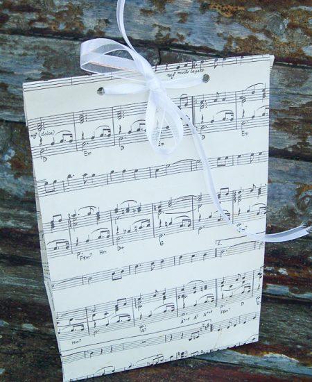 sheet music gift bags