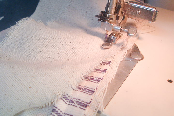 how to sew cording