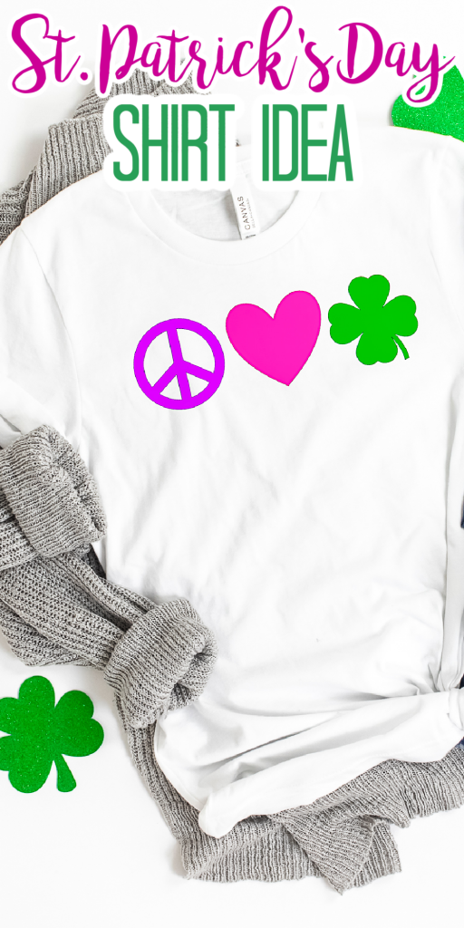 cricut st patrick's day shirt