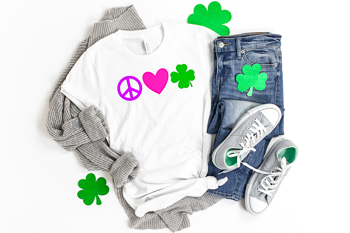 cricut st patricks day shirt