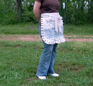 work apron for crafters