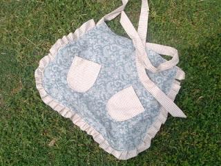 handmade apron with pockets