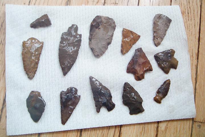 how to display arrowheads