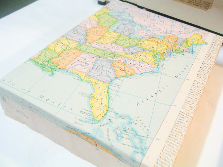 wrapped map canvas