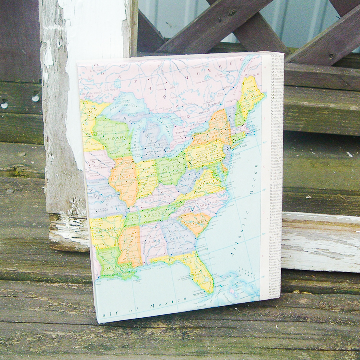 adding a map craft to your home