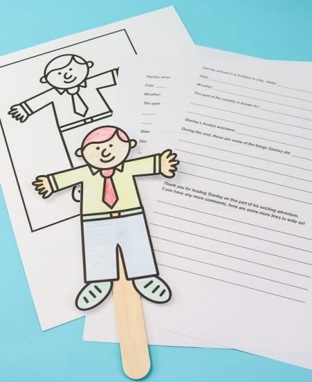 learning geography with flat stanley