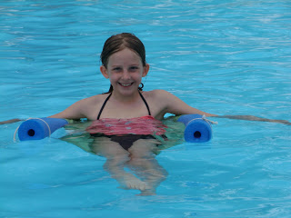 This DIY pool float is perfect for kids to relax in the pool with on hot summer days