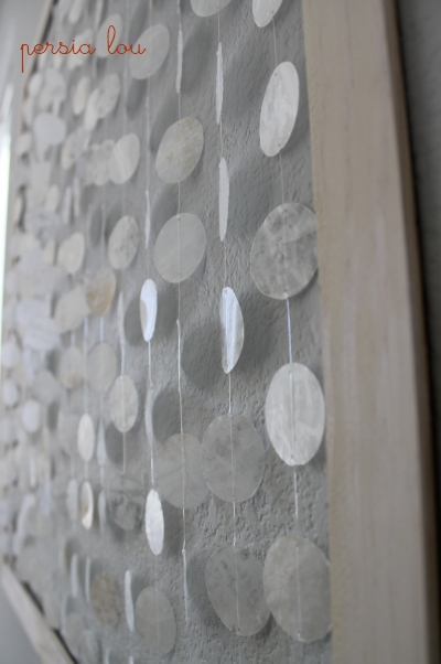 shell wall art