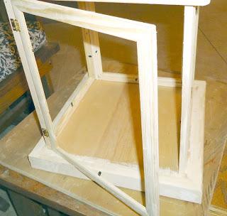 making a wood lantern