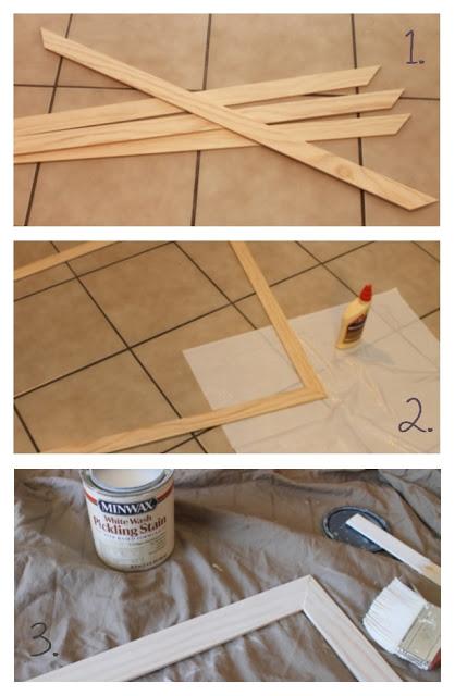 how to make a wood frame