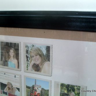 Framing Senior Pictures with Paper Coterie