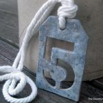 Make numbered tags similar to the Ballard Designs original with these step by step instructions.