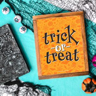 free trick or treat printable