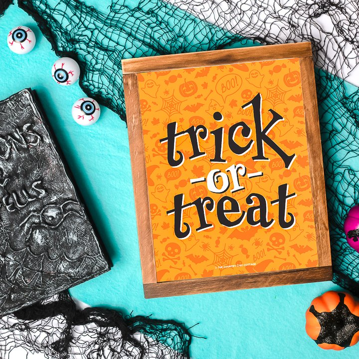 free trick or treat printable
