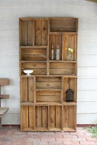 Barnwood Furniture — My Desk Hutch