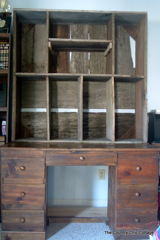 big hutch w product cabinet gun gunrack barnwood hinges