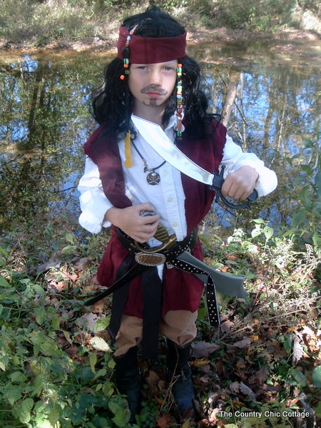 How To Make A Jack Sparrow Costume And A Costume Contest The