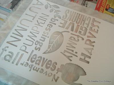 cricut stencil