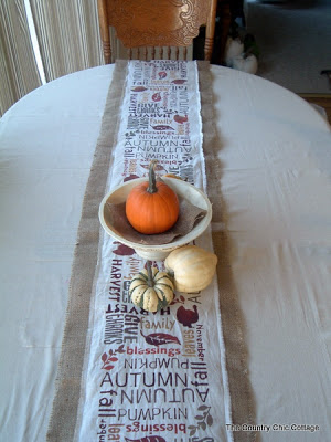 farmhouse style table runner