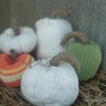 How to make sweater pumpkins -- no sewing required!!
