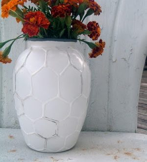 Hive Vase — West Elm Knock Off