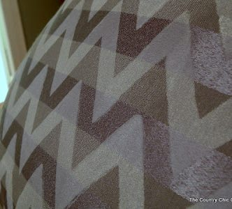 Chevron Decor with the Plaid Simply Screen #simplyscreen @plaidcrafts