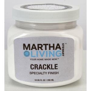 Package of white Martha Living Crackle paint