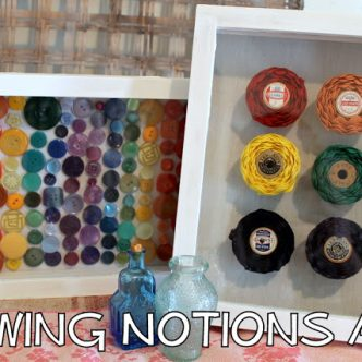 Sewing Notions Art with ROYGBIV week