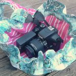 Make a drawstring camera bag with this step by step tutorial.