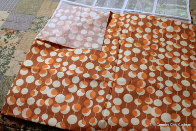 fabric folded