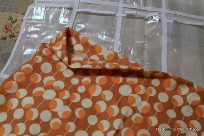 Finished edge on fabric