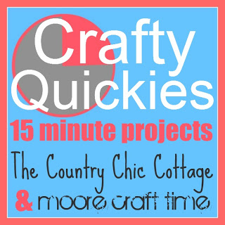Crafty Quickies Linky Party — Come link up your 15 minute crafts!