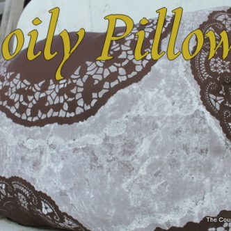 Doily Pillow in 15 minutes or less