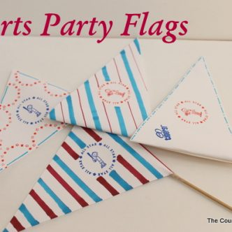 Sports Party Flags