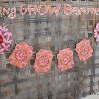 Spring GROW Banner with Basic Grey and PSA Essentials