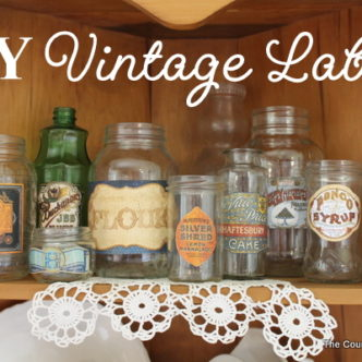 DIY Vintage Labels with Bo Bunny and PSA Essentials