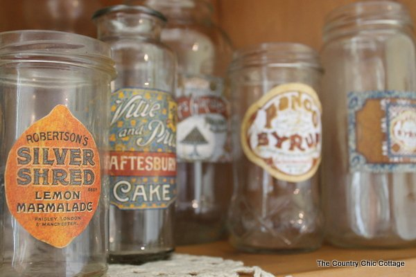 DIY Vintage Labels