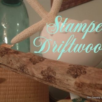 Stamped Driftwood