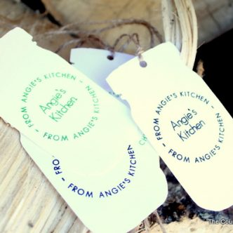 Mason Jar Labels for Food Gifts — Teacher Appreciation Week
